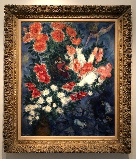 Chagall, so romantic