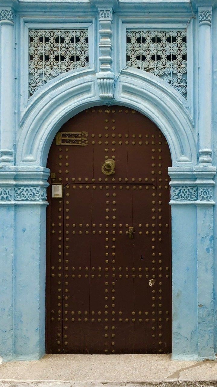 Door in Rabat Medina