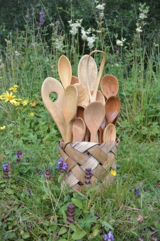 By Arrangement - Spoons, Spurtles, Spreaders and Spatulas - Swaledale wild camping retreat