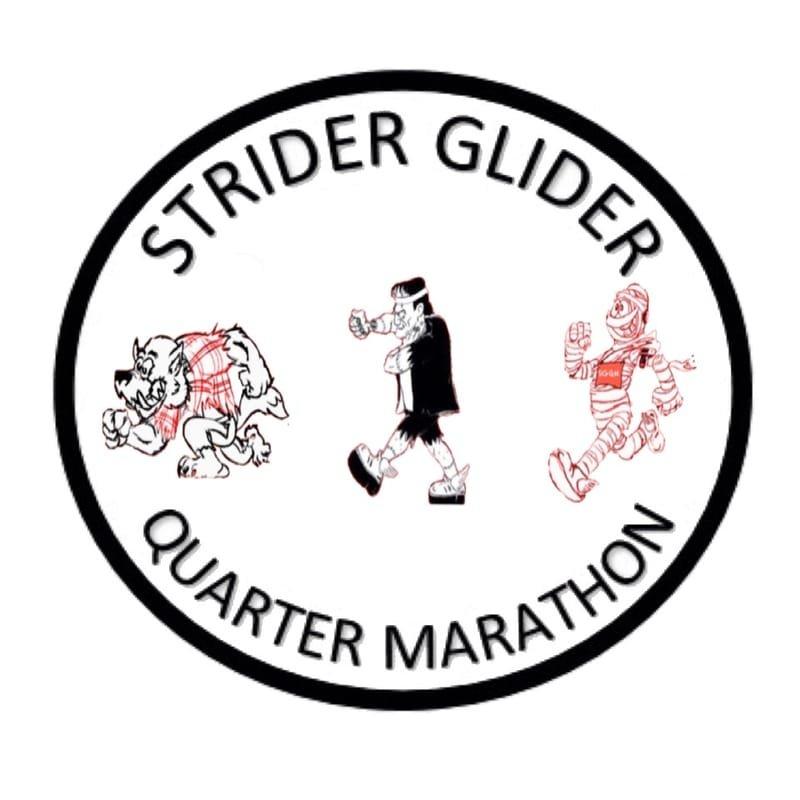 STRIDER GLIDER QUARTER MARATHON - UPDATE