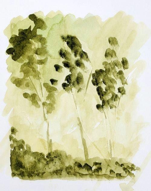 Imaginary Trees