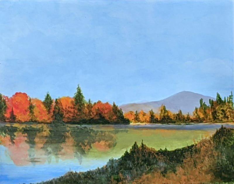 Indian Lake, NY, Acrylic