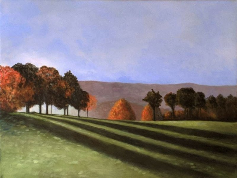 Acrylic Meadow
