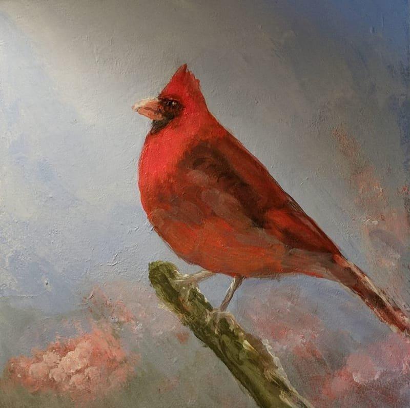 Cardinal_acrylic