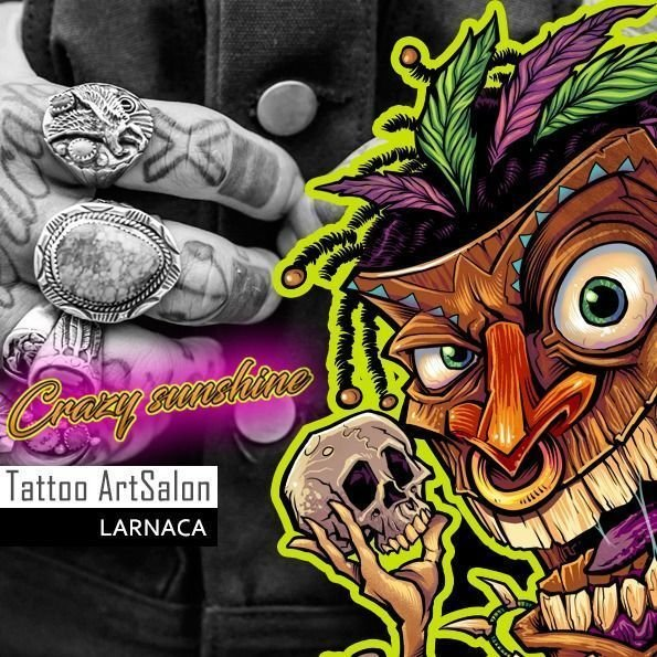 Crazy Sunshine Tattoo