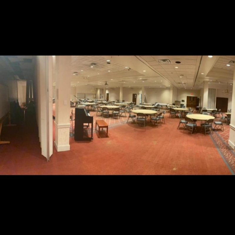 Before Interior Renovation at FBCJ Fellowship Hall