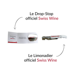 Le limonadier et drop-stop officiel de Swiss Wine