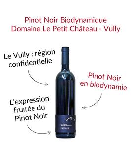 Pinot Noir domaine le Petit Chateau Môtier Vully