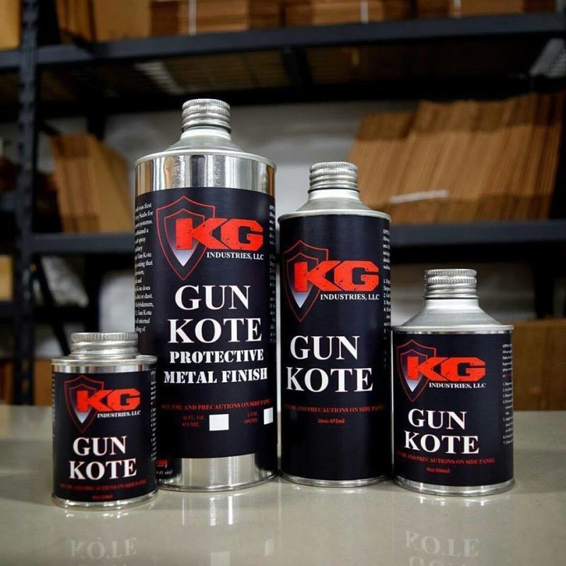 KG GunKote, Laser Engraving