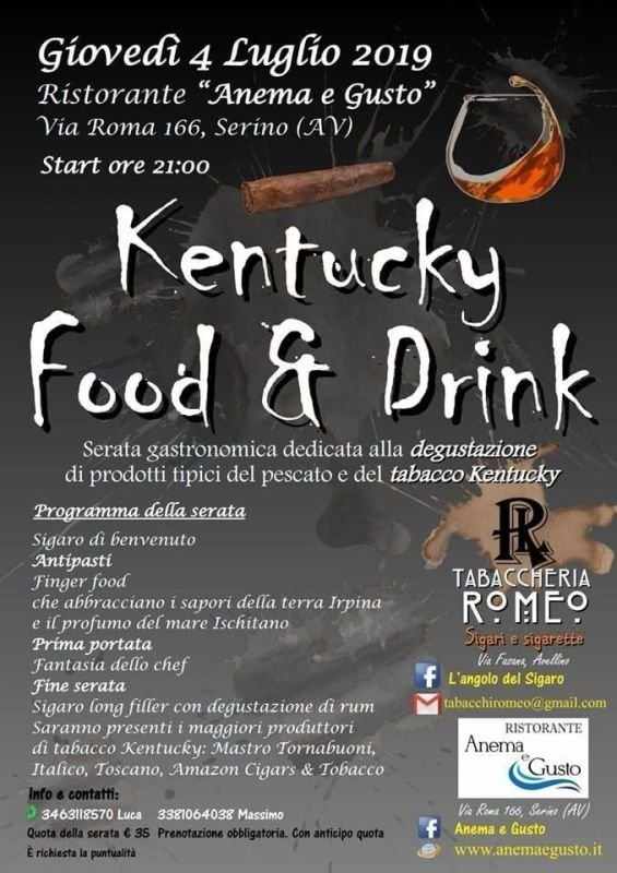 KENTUCKY FOOD & DRINK ON THE ROAD