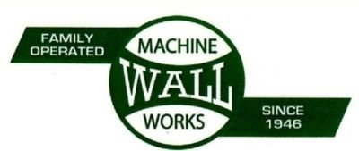 WALL  MACHINE  WORKS  U.S.A.      2019