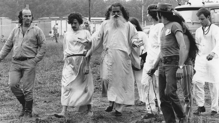 Un gurú de la India y sus seguidores llegaron hasta el Festival de Woodstock (Granger/Shutterstock)