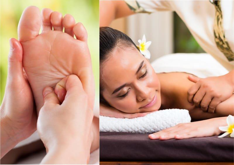 Chinesische Fuss- und Body-Massage