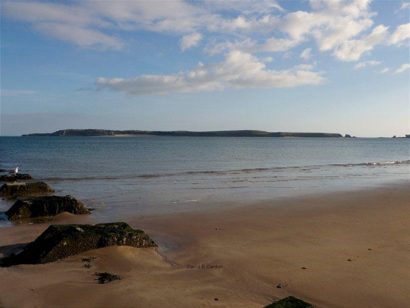 Caldey Island near Tenby