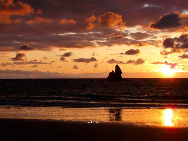 Church Rock at Dawn