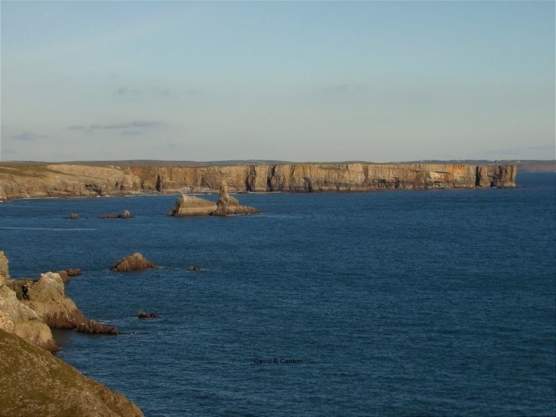 Church Rock and Stackpole head
