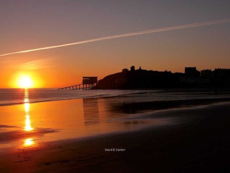 Dawn over Tenby