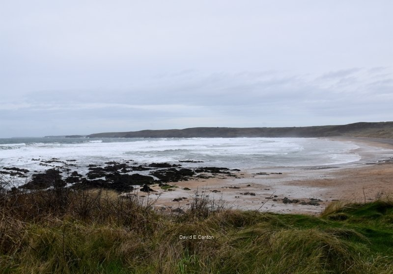 Freshwater West in Pembrokeshire