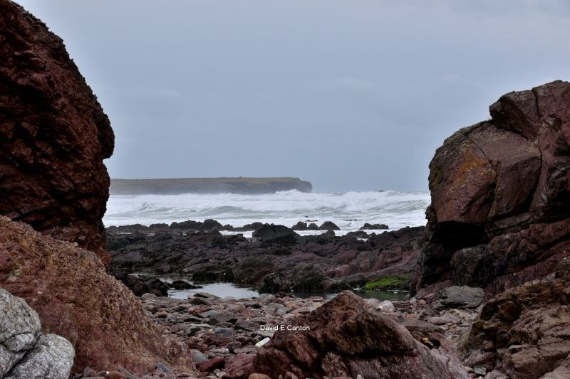 Linney Head from Freshwater West