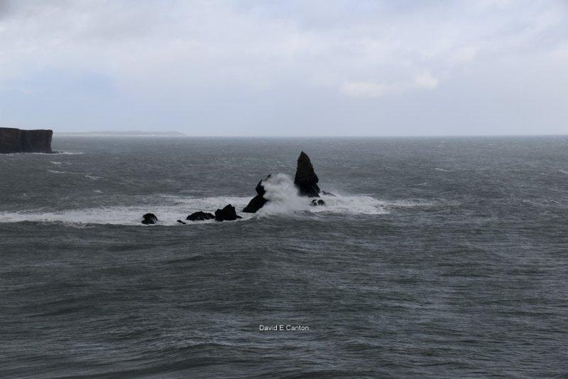 Church Rock on Pembrokeshire Coast