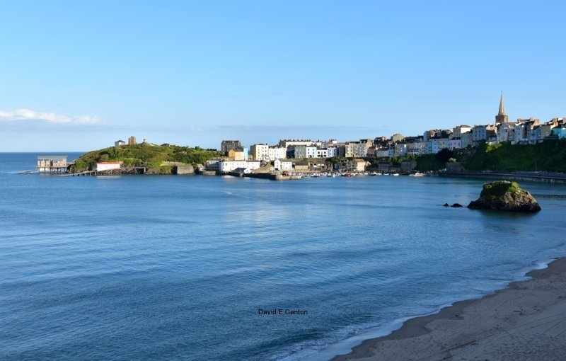 Tenby on a July evening