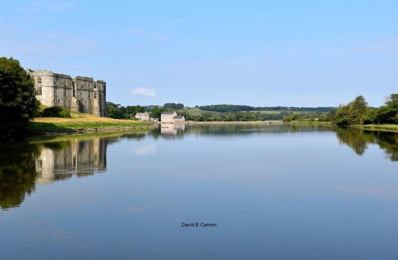 Carew Castle and Millpond