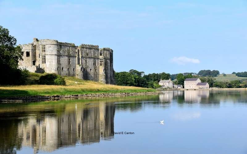 Carew Castle and Mill