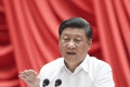 Chinese President Xi Jinping making a speech on Tuesday during the opening ceremony of a training programme for young and middle-aged officials at the Central Party School. Photo: Xinhua