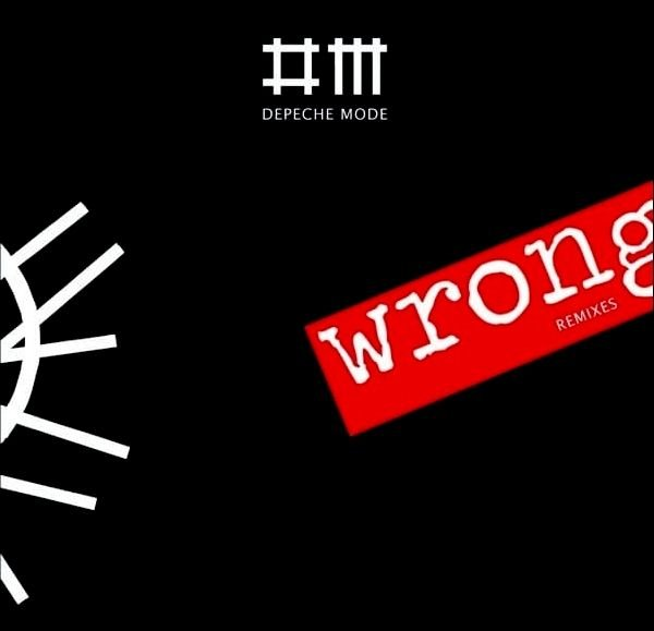 Depeche Mode  -Wrong - CD [Limited edition]