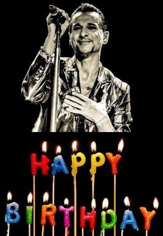 Dave Gahan: Happy birthday !