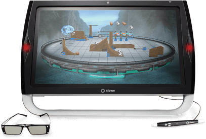 zSpace A10 all-in-one computer