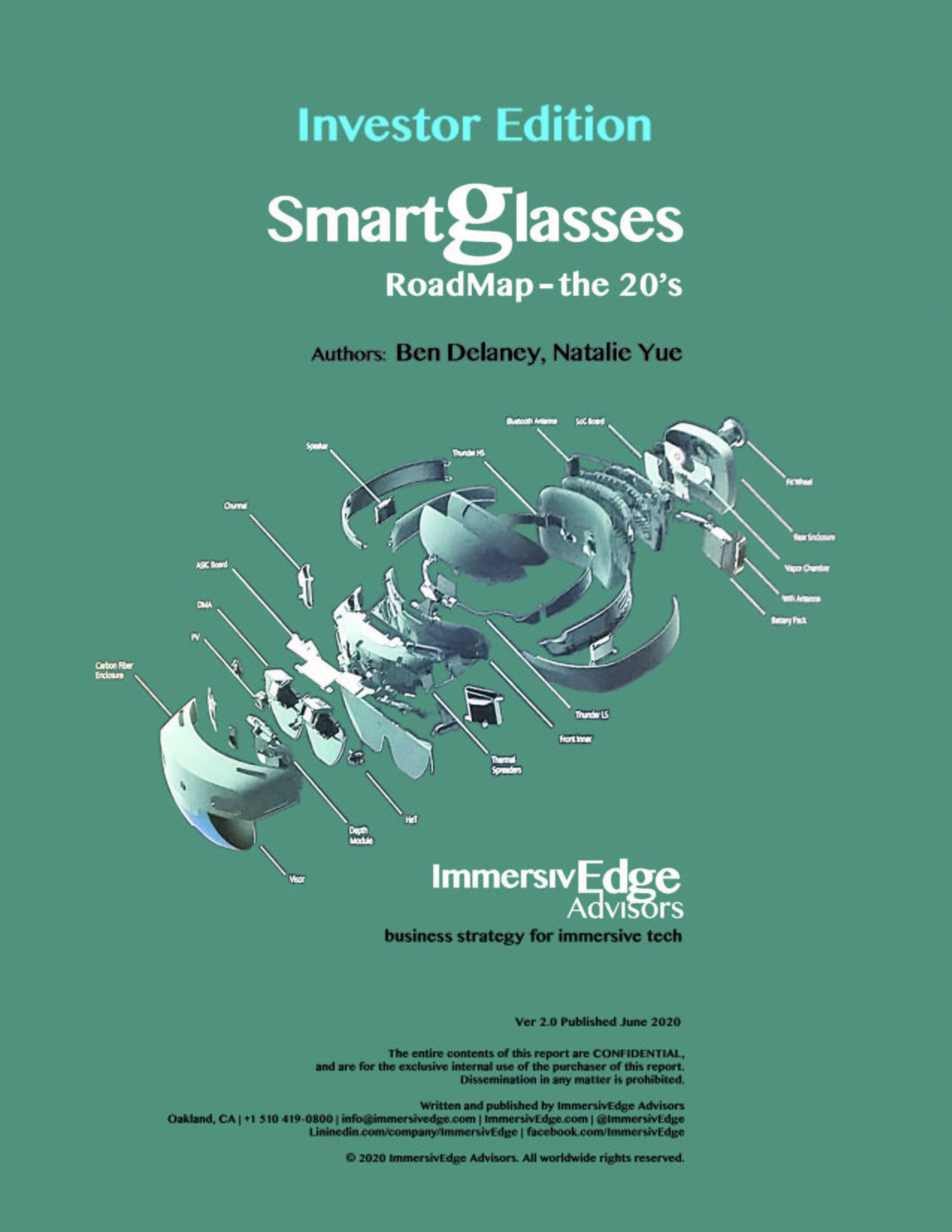 Smartglasses Roadmap – the 20's, Investors Edition