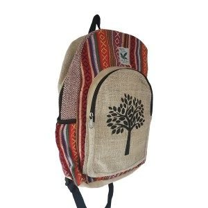 Hemp tree of life backpack