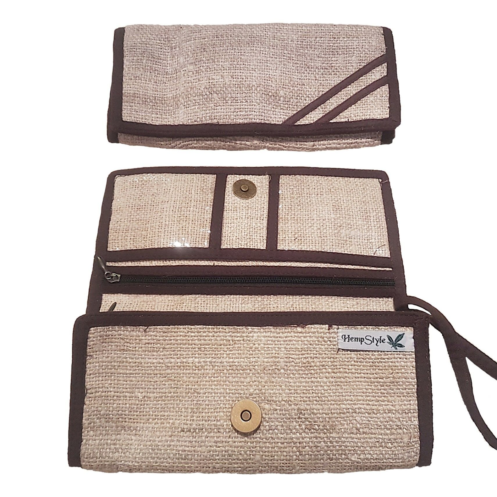 Hemp style natural purse