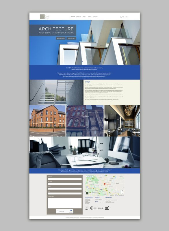 ADM Studio - Website Design
