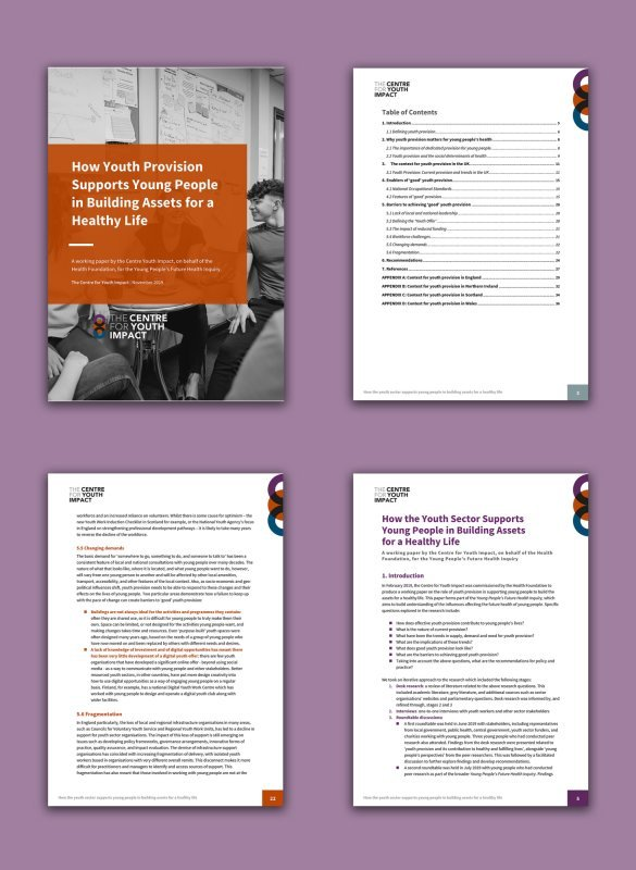 The Centre for Youth Impact - Case Study Design