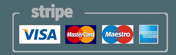 Kreditkartenzahlung Stripe in CHF & EUR