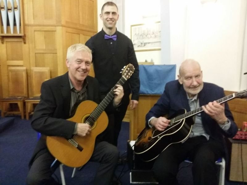 Concert with Brilliant Jazz Guitarist Roy Sainsbury