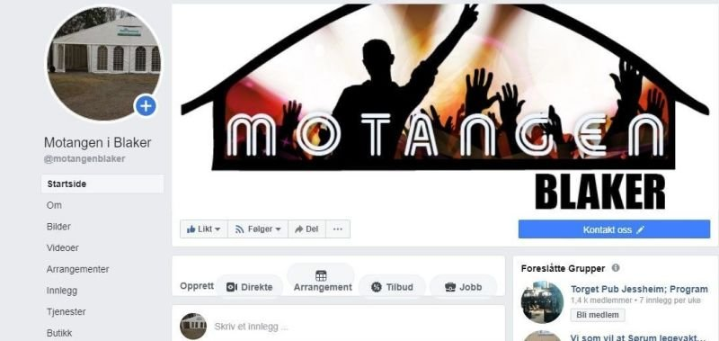 Lik oss på Facebook
