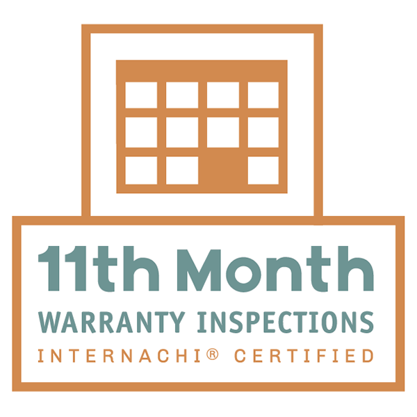 11 Month New Home Warranty Inspection