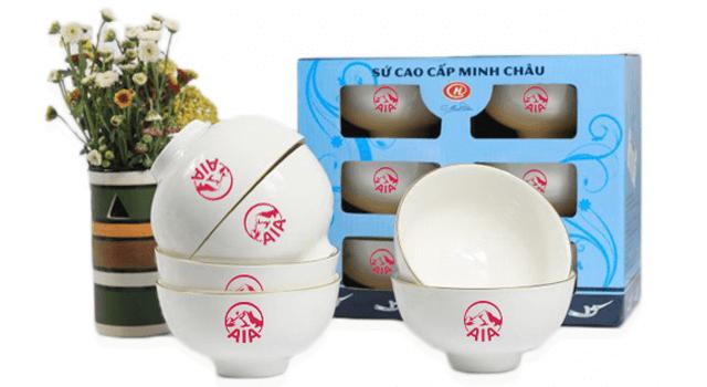 Bộ chén ăn cơm Minh châu giá rẻ