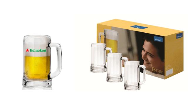 Tặng bộ ly uống bia cho đại biểu tham dự