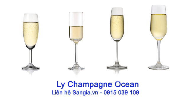 Ly champagne