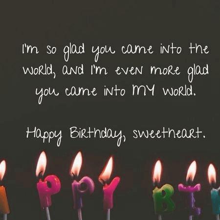 Lời chúc sinh nhật chồng