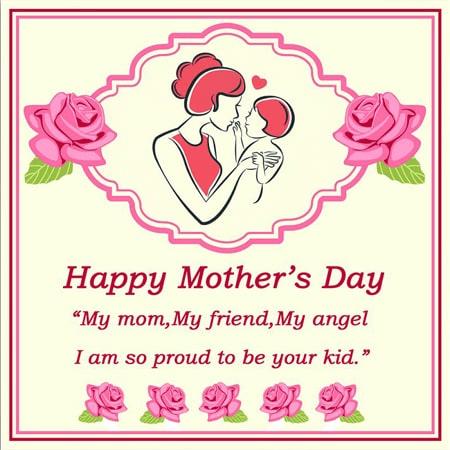 Thiệp chúc mừng mẹ