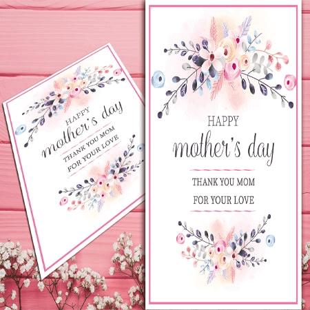 Thiệp tặng ngày mother day