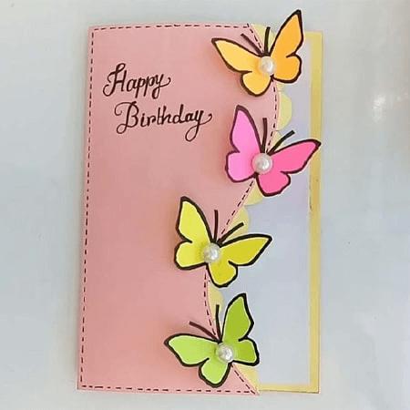 Thiệp handmade tặng sinh nhật bạn