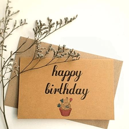 Thiệp sinh nhật bạn bè