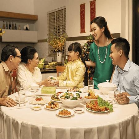 Bữa ăn tối cùng gia đình