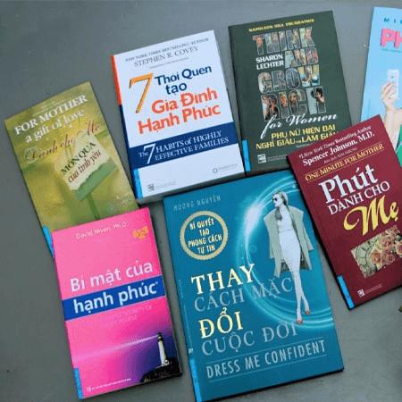 Sách hay tặng vợ